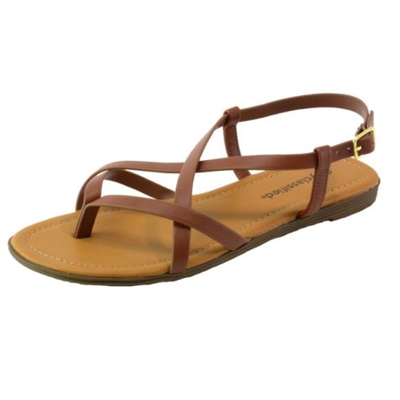 2b222b32eab68c City classified criss cross gladiator sandals. M 5a3ec26d2c705d3f53059475